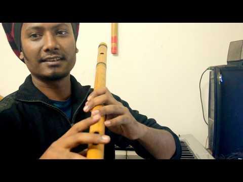 Krrish Flute Tune || How To Play || Flute Tutorial || Raag Hansdhwani || Flute Sumon