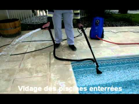 Kit vide cave nilfisk vidage piscine youtube for Aspirateur manuel pour piscine