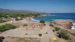 Las mejores playas de Tarragona desde el aire - Litoral Costa Dorada