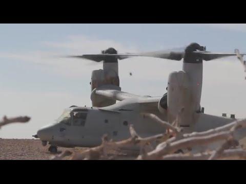 26th Marine Expeditionary Unit: VMM-266 Osprey Flight Ops