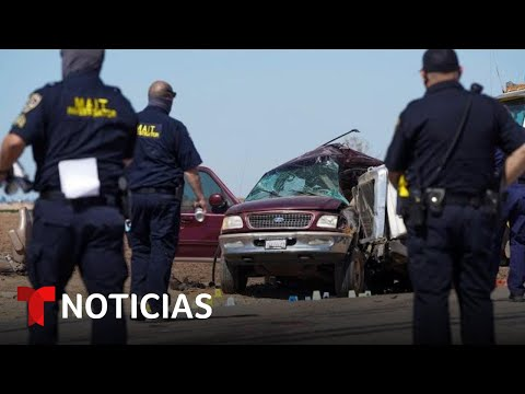 Varios hospitalizados tras accidente mortal en California | Noticias Telemundo