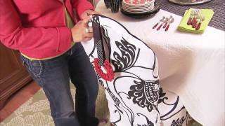 Use A Quilt As A Tablecloth!