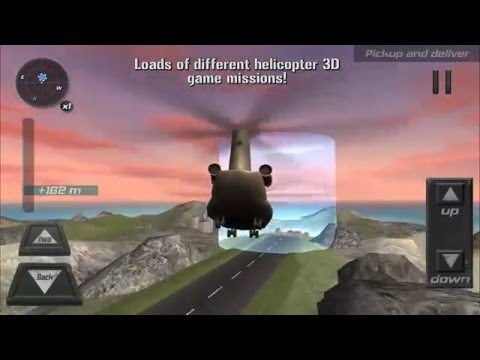 Helicopter 3D flight sim 2