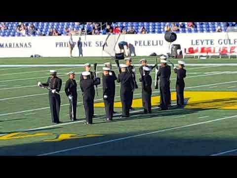 US Naval Academy Silent Drill Team