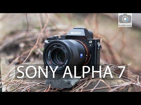 Sony Alpha A7 - Обзор Полнокадровой Беззеркалки со Сменной Оптикой на Kaddr.com