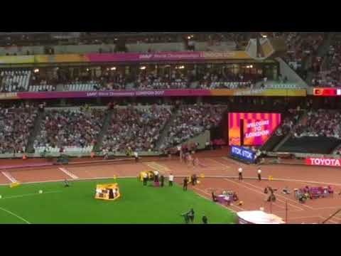 Sally Pearson wins the 100m hurdles at the IAAF World Championships London 2017