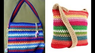 crochet purse bag for woman free pattern