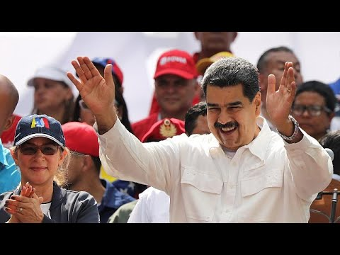 Maduro blames the United States as power cuts grip Venezuela