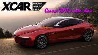 Alfa Romeo Gloria Concept 2013 Videos