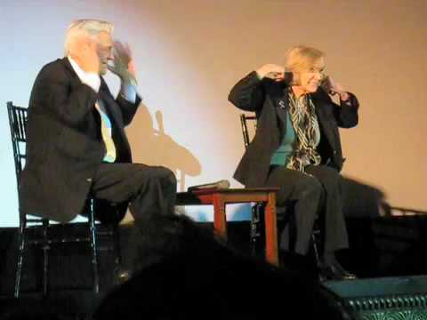 Eva Marie Saint and Robert Osborne on a Hitchcock Blooper
