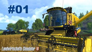 Landwirtschafts-Simulator 15 - Let's Play #01 Beginnen wir die Tour [HD|BLIND|Deutsch]