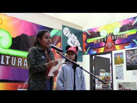 4 John Trudell by Lucy and Junebug - Spoken Word at Cafe Cultura in Denver