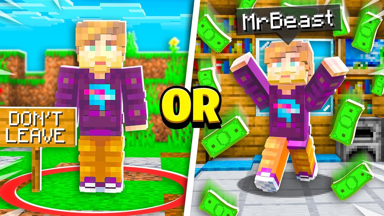 MrBeast vs Extreme Minecraft Would You Rather! – Challenge