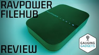 RAVPower FileHub Review - Wireless Travel Router AC750 - RP-WD009 V2 2019