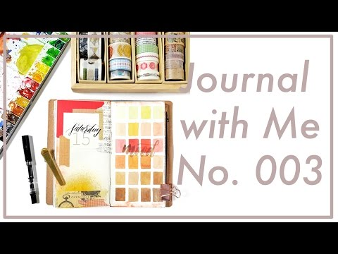 Journal with Me No. 003 | Midori Traveler's Notebook