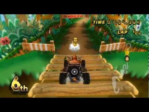 Download Mario Kart Wii -- Online Races 92: DK in the Dirt