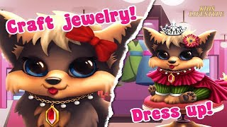 Fun Puppy Pet Care - My Cute Dog Bella - Let's Take Care Of Cute Dog, Pet Dress Up Games For Kids