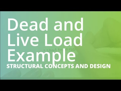 Basic Dead And Live Load Example Structural Concepts And Design