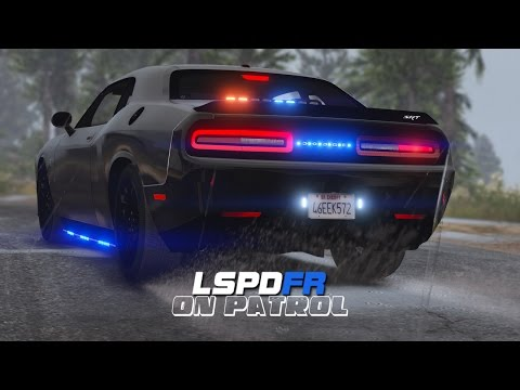 LSPDFR - Day 427 - Dodge Challenger Hellcat Police Car