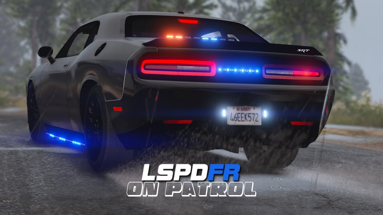 Hellcat Challenger For Sale >> LSPDFR - Day 427 - Dodge Challenger Hellcat Police Car - YouTube
