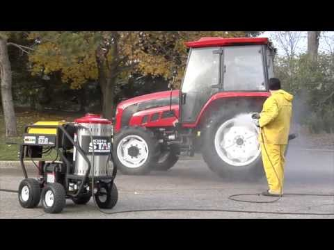 NorthStar Gas Powered Wet Steam & Hot Water Pressure Washer - 3,000 PSI, 4.0 GPM, Honda Engine