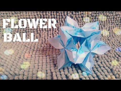 DIY - Làm quả cầu hoa trang trí xinh xắn