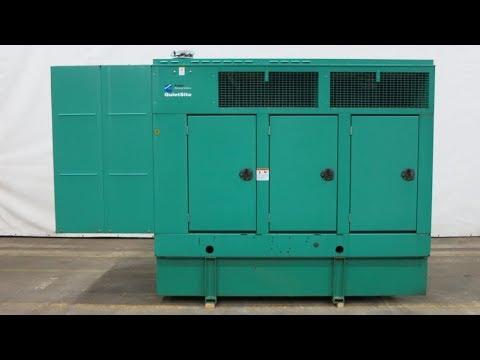 Cummins 150 kW diesel generator 120/240 single phase, 12 lead, 18 Hrs, '04 - CSDG # 2190