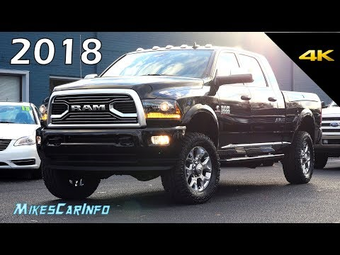 2018 RAM 2500 Limited Tungsten - Quick Look in 4K