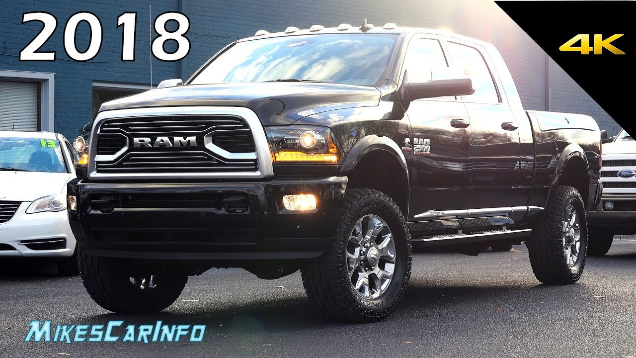 2018 Ram 2500 Limited Tungsten Quick Look In 4k