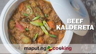 Unique Filipino Caldereta By Maputing Cooking