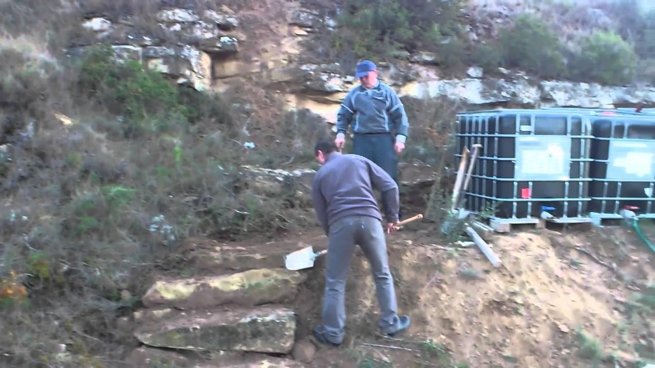 Mi nueva escalera de piedra youtube - Escaleras de piedra ...