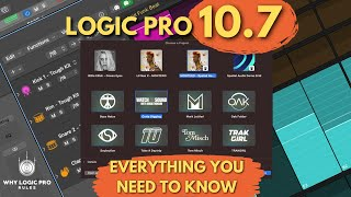 Logic Pro 10.7 - Everỳthing Else You Need to Know!