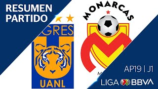 Resumen y Goles | Tigres UANL vs Moreli...