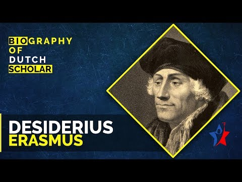 Desiderius Erasmus Short Biography