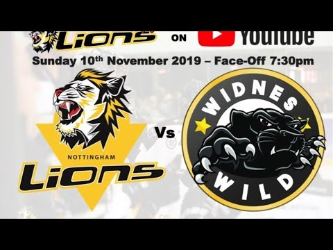 Nottingham Lions V Widnes Wild LIVE