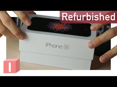 """Как новый"" IPhone SE за 14000р - распаковка и активация"