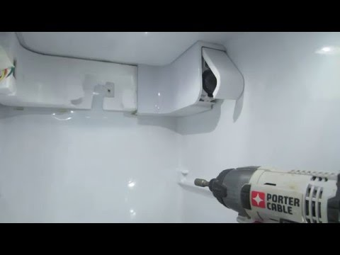 How To Replace Water Housing In Refrigerator