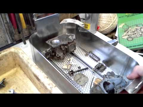 Ultrasonic Cleaning Of A Carburetor With Tickopur R33 - YT