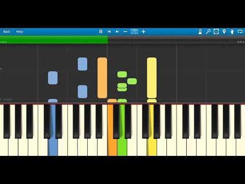 Mari Rayakan Hari Natal yang Kudus Piano Tutorial, easy music