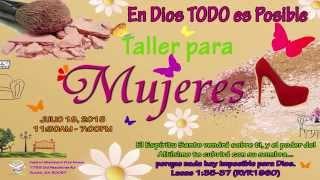 PROMO  -  Taller para Mujeres | En Dios TODO es Posible