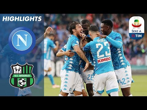 Napoli 2-0 Sassuolo | Goals From Ounas & Insigne Ensure Comfortable Win | Serie A