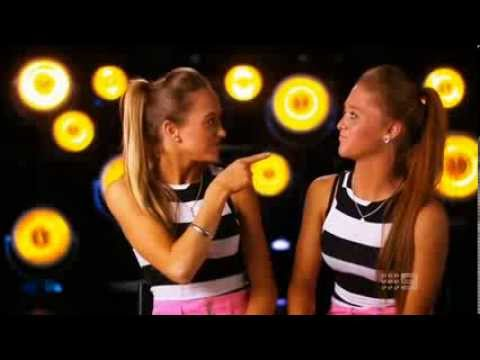 The Rybka Twins - Australia's Got Talent 2013 - The Semi-Finals [FULL]