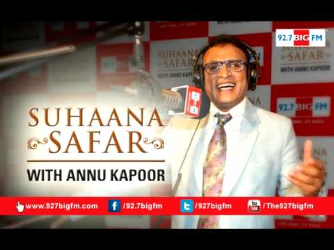 Suhaana Safar with Annu Kapoor | Show 487 | 01st May | Manna Dey B'Day Special