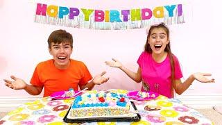 Nastya confundió su cumpleaños