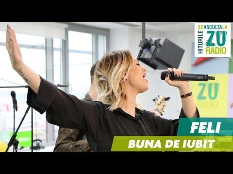 Feli - Buna de Iubit (LIVE la Radio ZU)