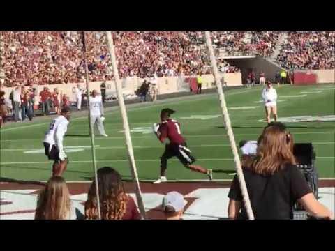 Texas Aggie Legends Football Game With Quarterback Johnny Manziel Spring Game 2018