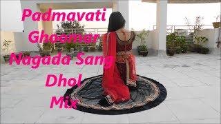 Padmavati Ghoomar Song Dance|| Deepika padukone | Sunny Singh Choreography