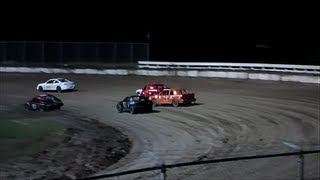 Racing - Gladiators (Feature Race) At Bubba Raceway Park 7-27-13