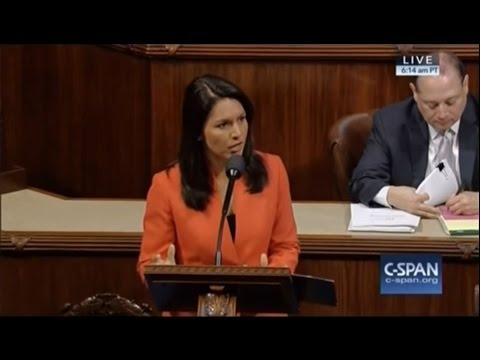 Rep. Tulsi Gabbard Introduces Bill to Stop Arming Terrorists- 12/8/16