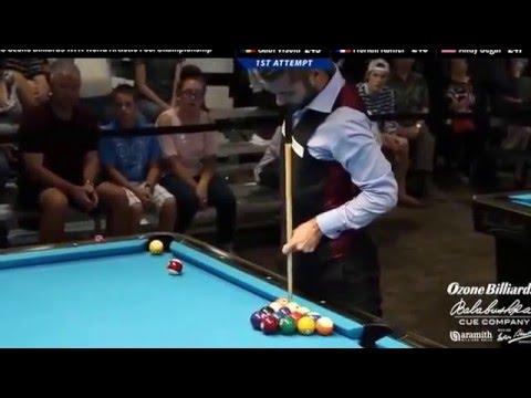 2015 Ozone Billiards World Artistic Pool Championship - Final Round